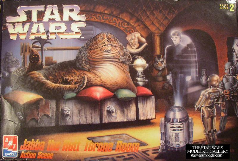 Jabba The Hutt Throne Room Action Scene 1 63 Plastic Amt