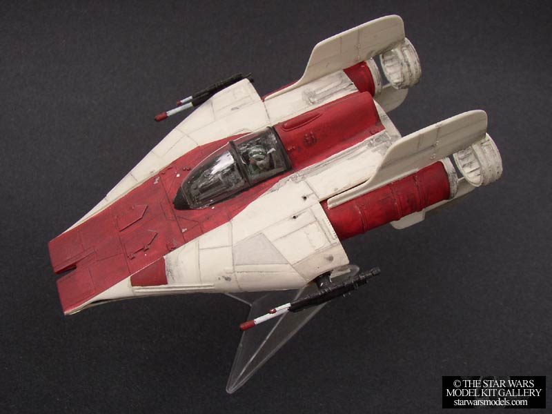 a wing fighter 1 48 smt resin model kit the star wars model kit gallery. Black Bedroom Furniture Sets. Home Design Ideas