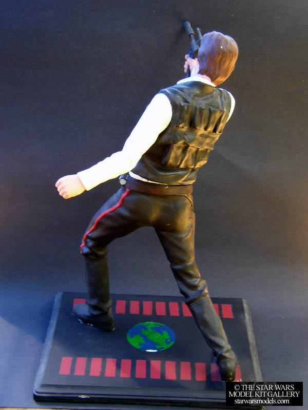 Han Solo 1 4 Vinyl Screamin Model Kit Starwarsmodels