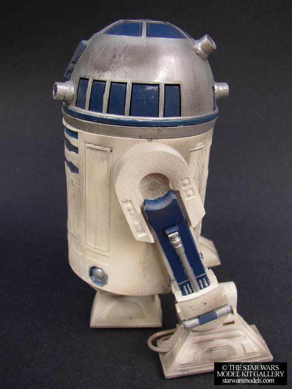 R2 D2 1 6 Plastic Mpc Model Kit Starwarsmodels Com The