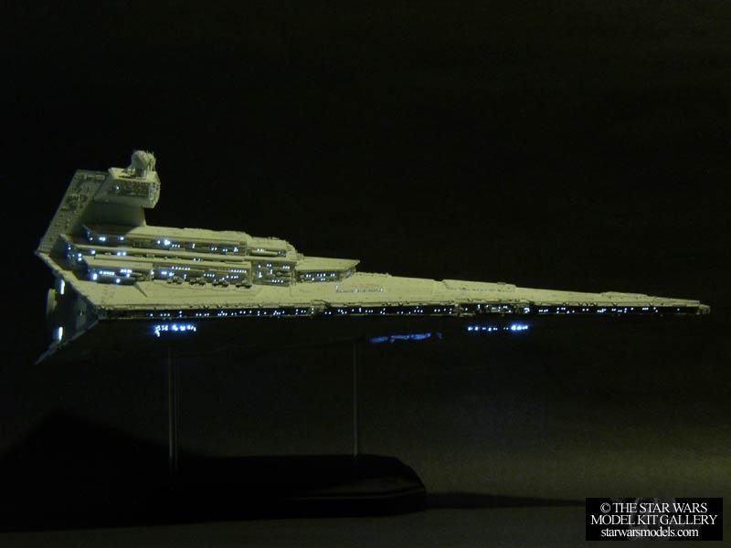 Star Destroyer With Fiber Optic Lighting System 1 4222